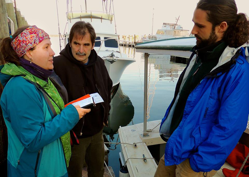 Marla Marcum, Ken Ward, Jay O'Hara - Lobster Boat Blockade