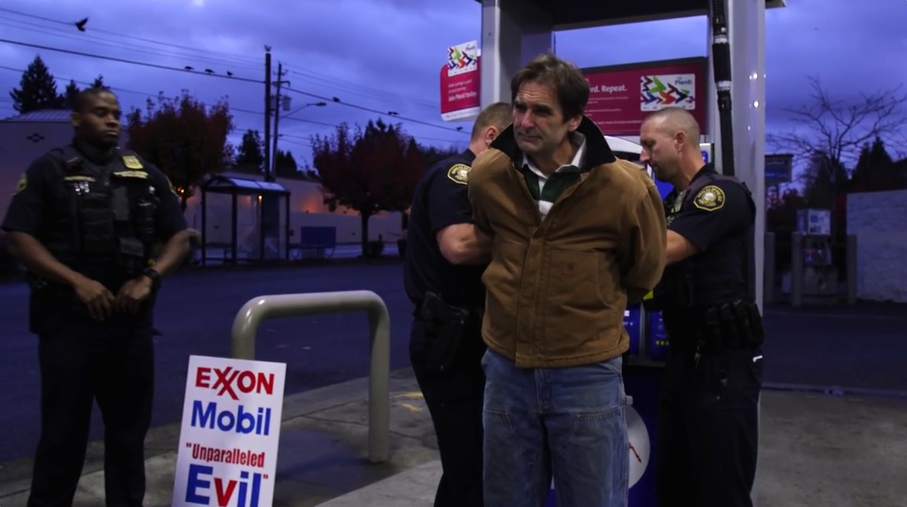 Ken Ward #ExxonKnew Protest