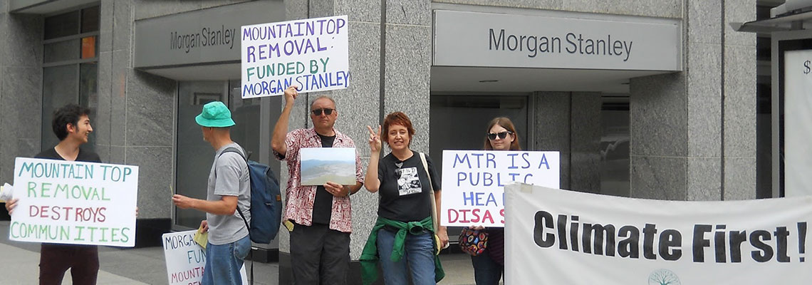 We fought Morgan Stanley over mountaintop removal