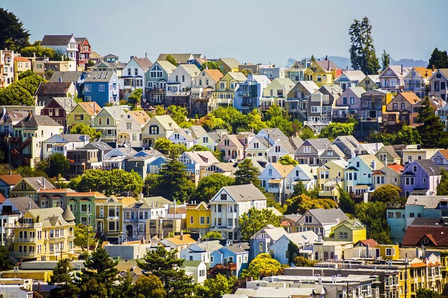 Housing stock in San Francisco