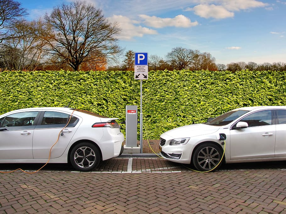 EV charging station - courtesy Pxfuel