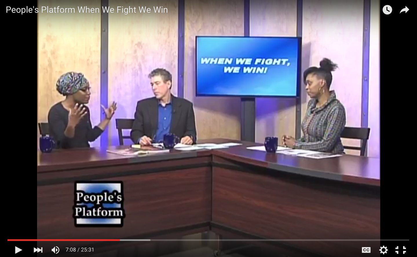 City Life on Peoples Platform TV Show