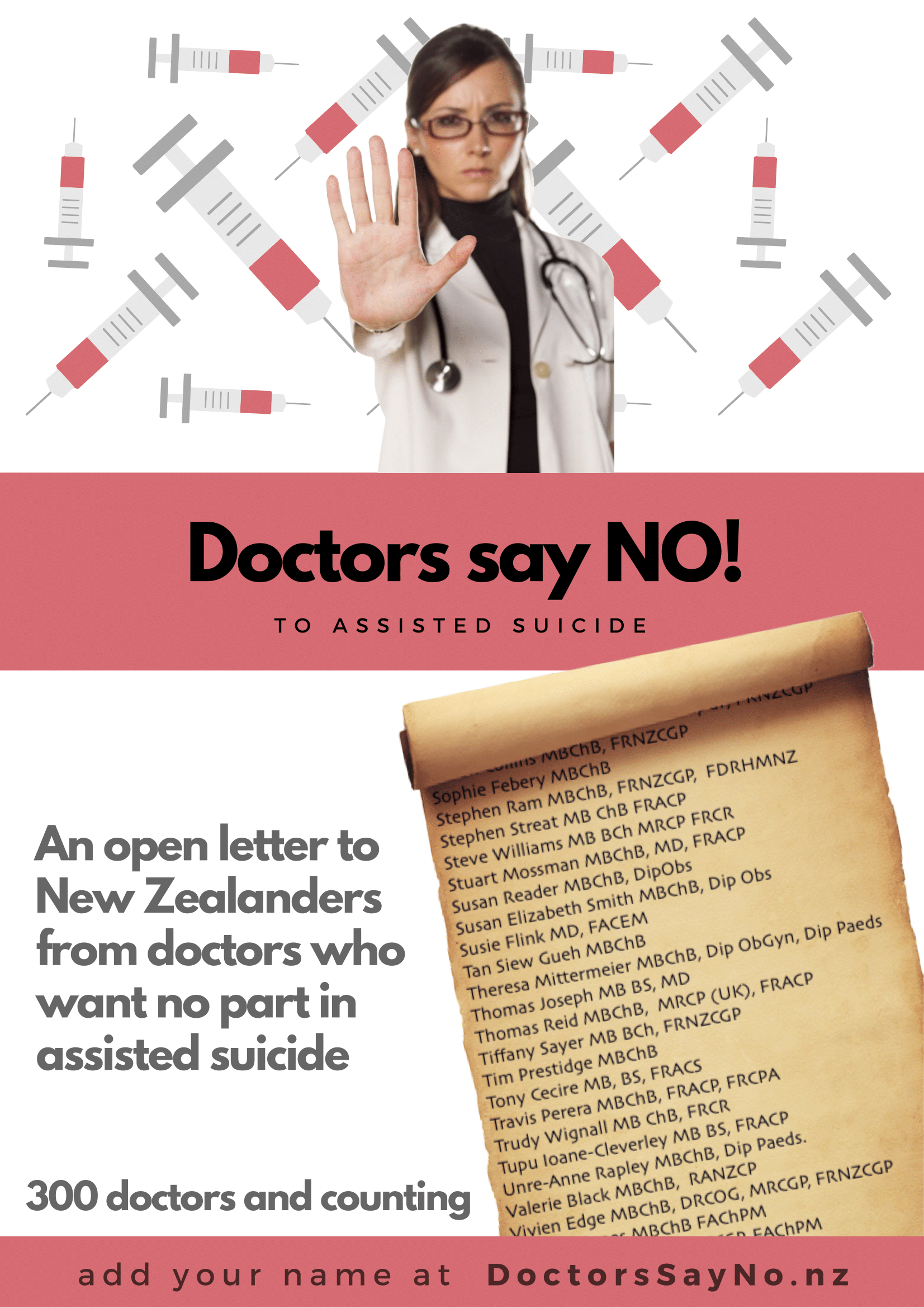 Doctors Say No to Euthenasia