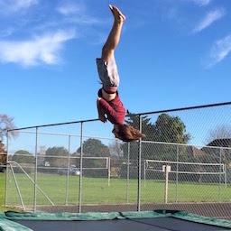 Sun, trampolines & backflips