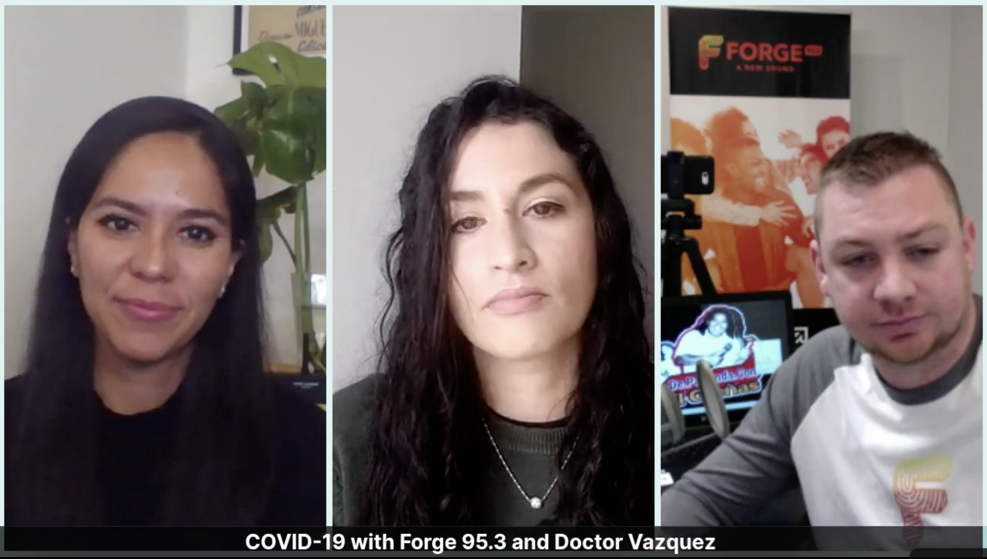 Chatting with Dra Vázquez on Forge Radio.
