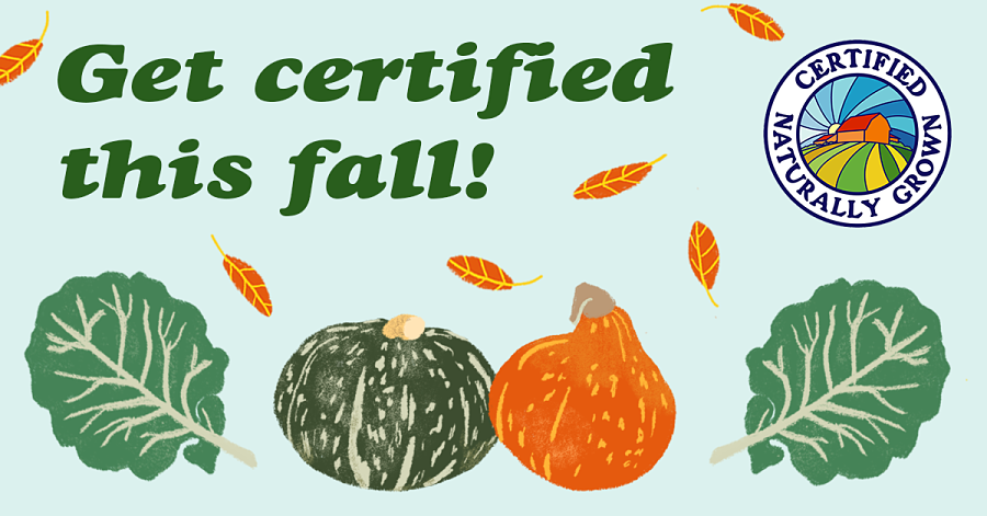 Apply to Certified Naturally Grown this Fall