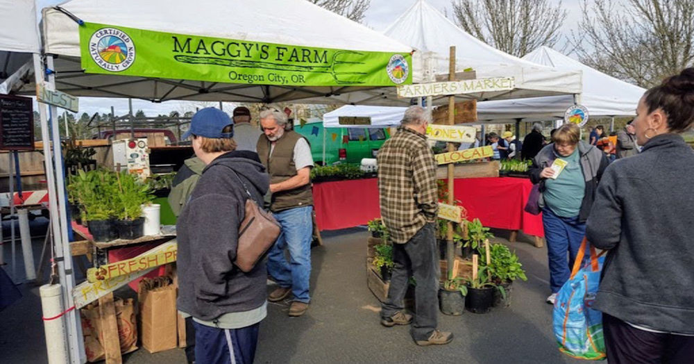 Oregon City Farmers Market Supports CNG