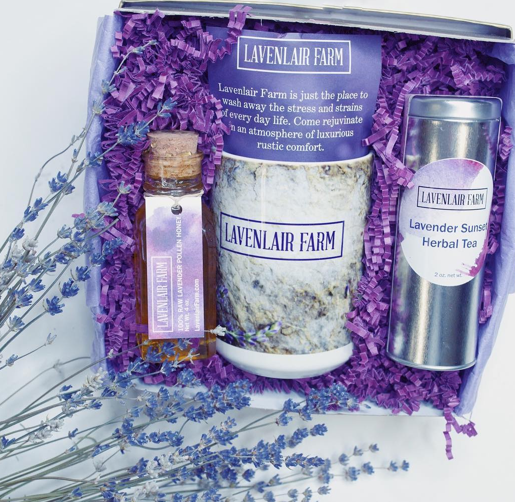 Sustainable Alternative Organic Certified Lavender Gifts