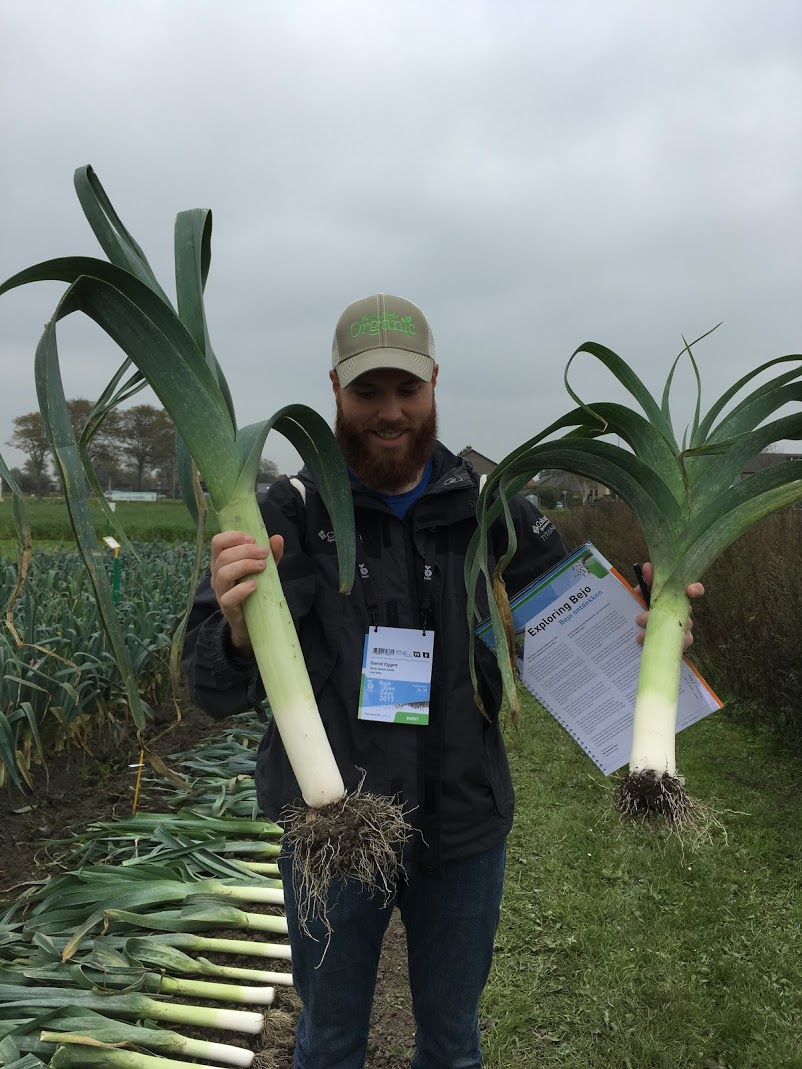 Giant Leek Harris Seeds Organic Daniel Eggert Supports Certified Naturally Grown Alternative to Organic