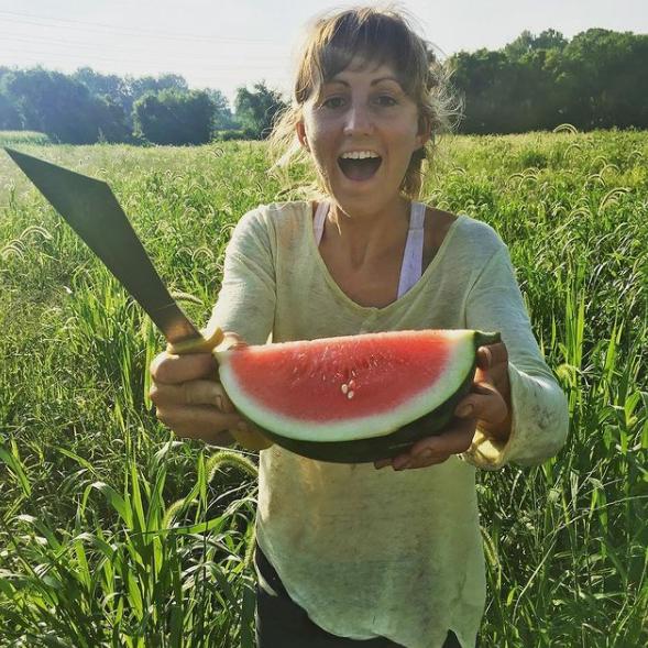 CNG Farmer Liz Visser
