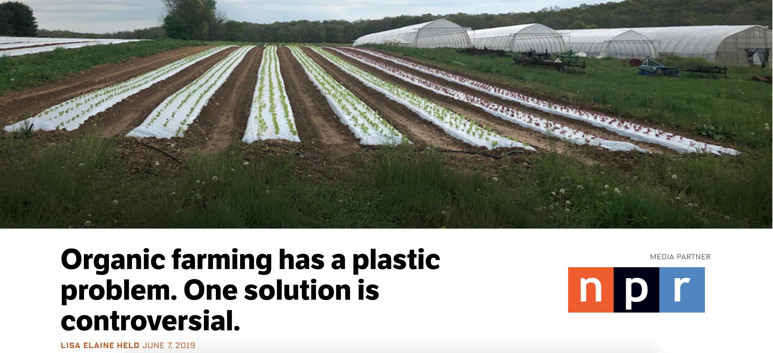 Organic Plastic Produce