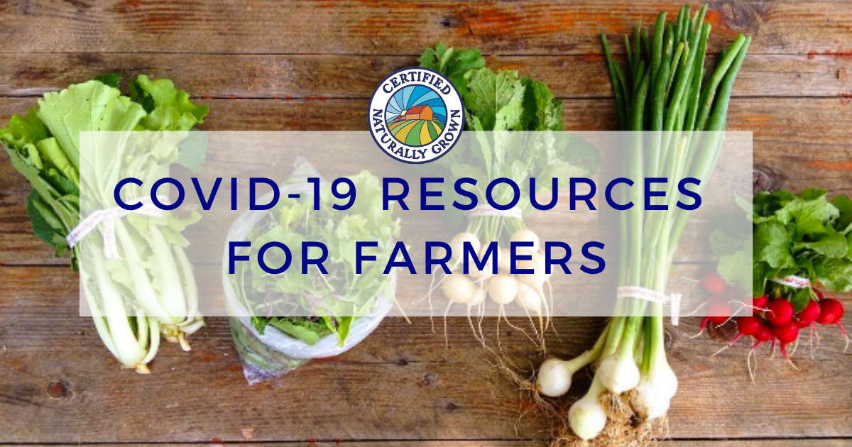 COVID-19 Resources for Farmers