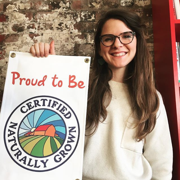 Certified Naturally Grown Aly Miller