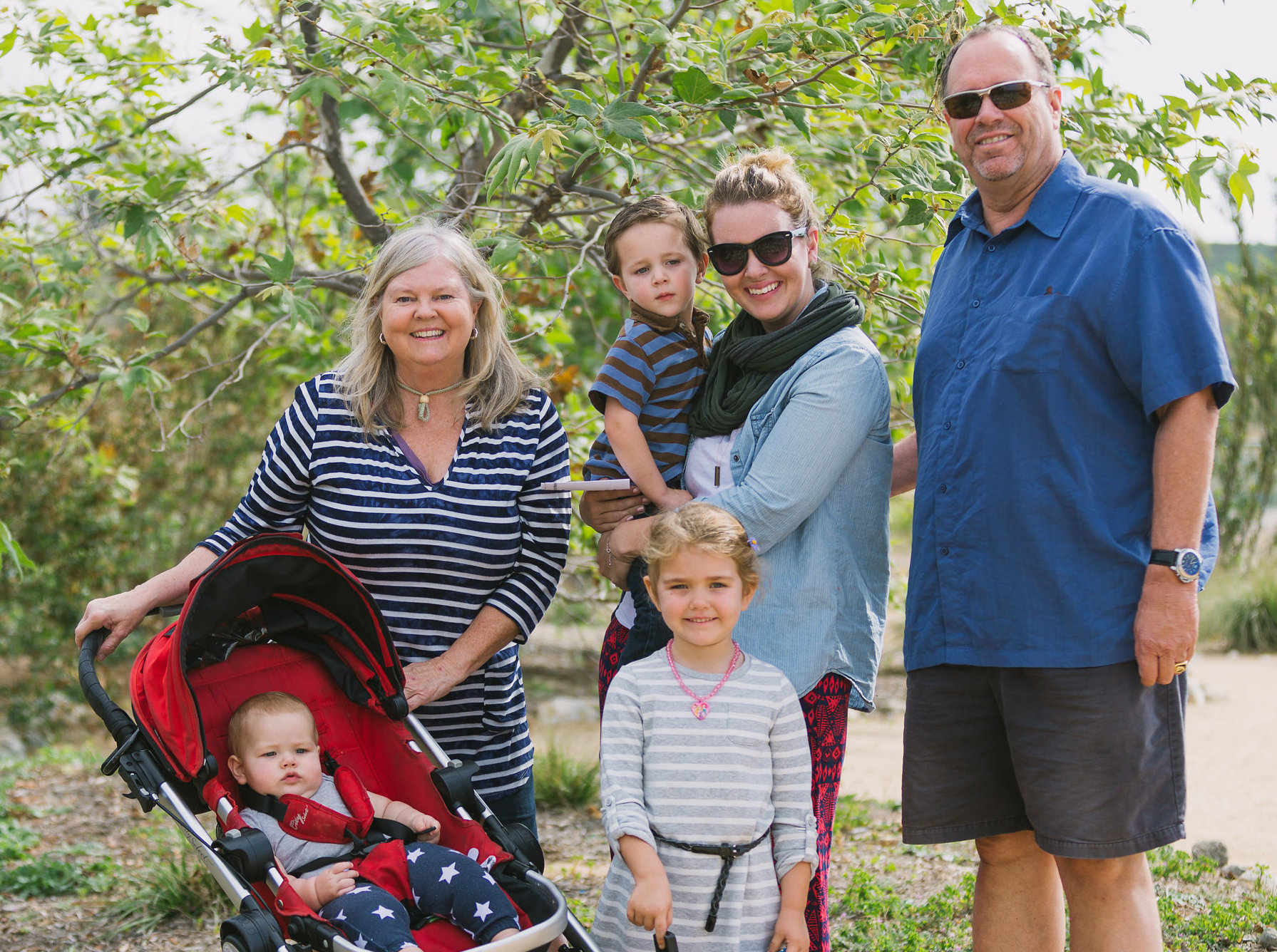 This family had a blast at the coastkeeper garden