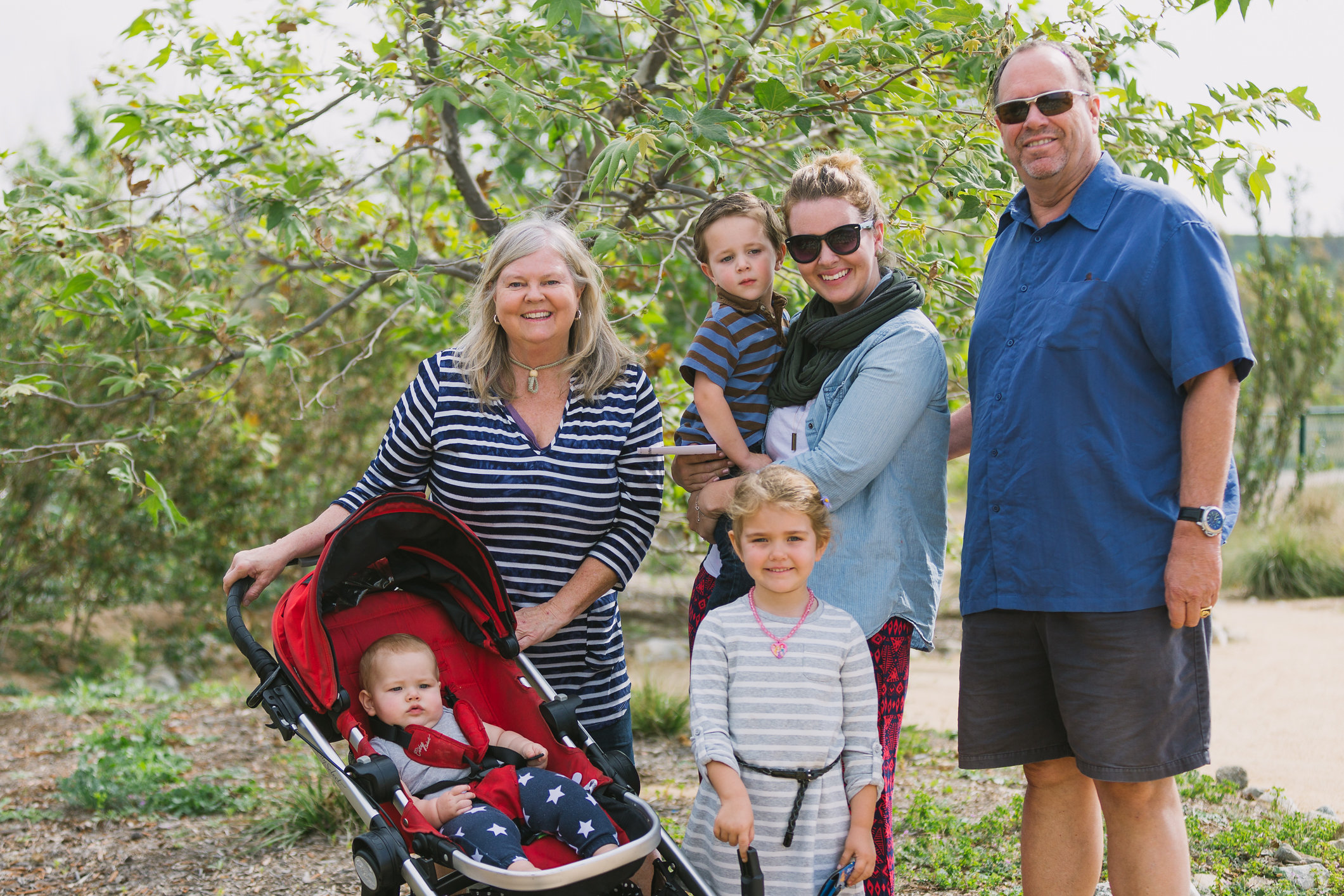 Family enjoying the Caostkeeper Garden