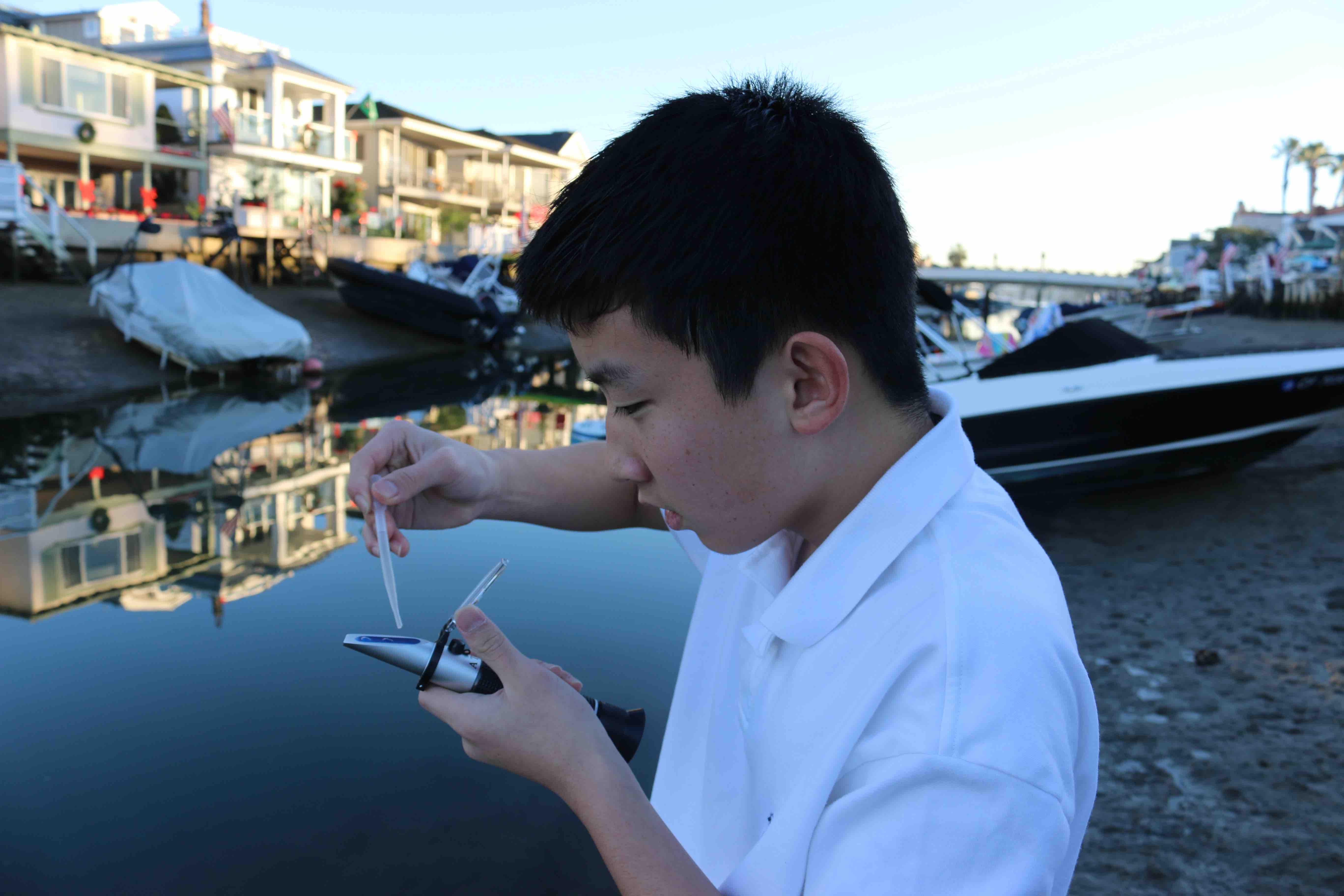 Benjamin Chang loves science
