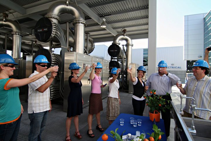 Sustainable water recycling in Orange County