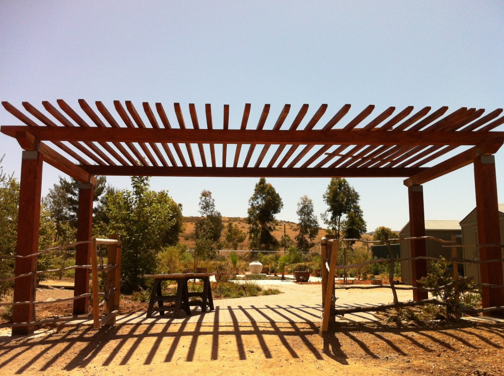 The grand entrance to the Coastkeeper Garden is complete!