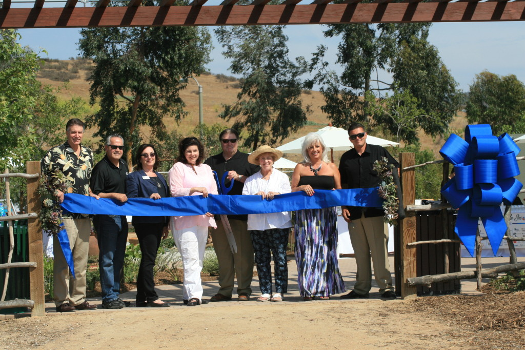 We finally did it! The ribbon cutting ceremony represented that the Coastkeeper Garden is now complete and open to the public.