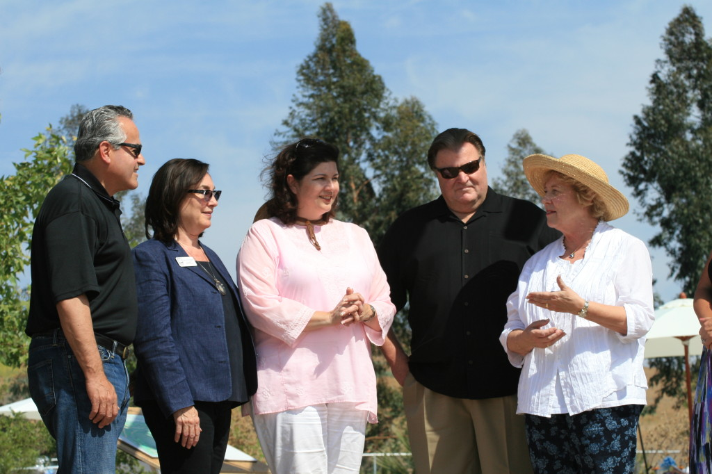 City of Orange Mayor Tita Smith welcomes the Coastkeeper Garden as a new community asset for her city.
