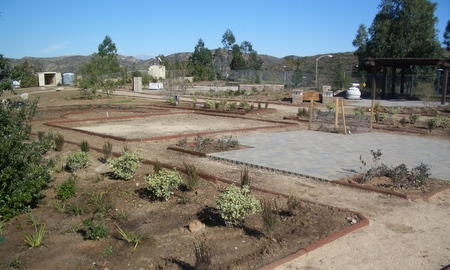 Traditional vignette- the open square will be filled with a native grass blend