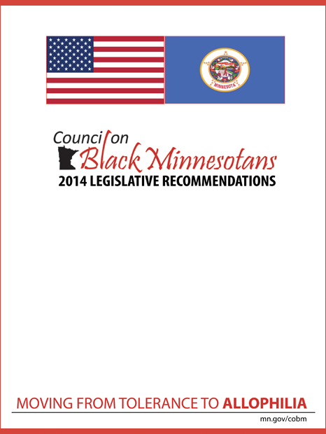CoBM 2014 Legislative Recommendations