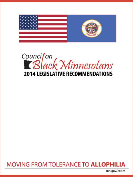 CoBM 2014 Legislative Recommendations