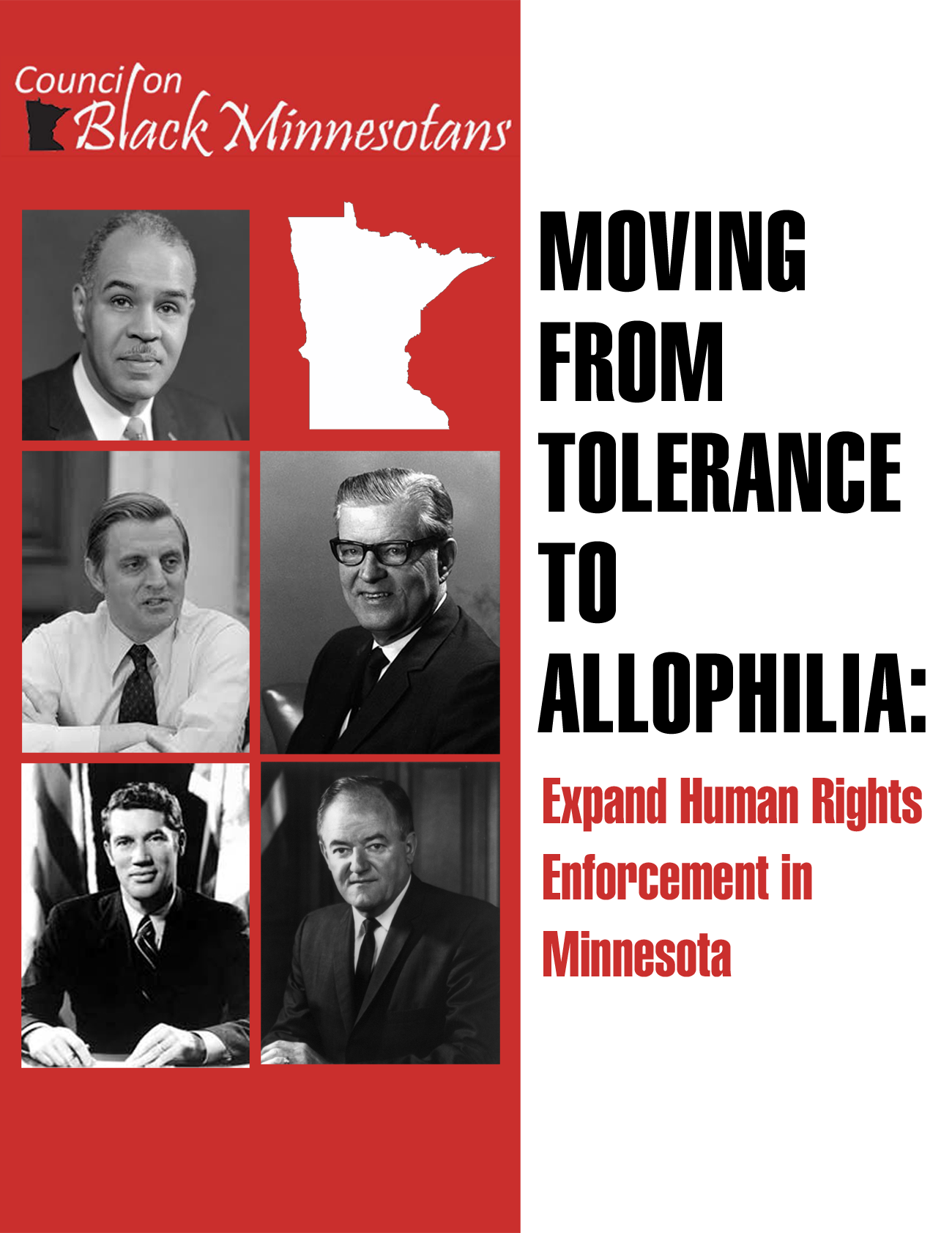 Moving from Tolerance to Allophilia: Expand Human Rights Enforcement in Minnesota