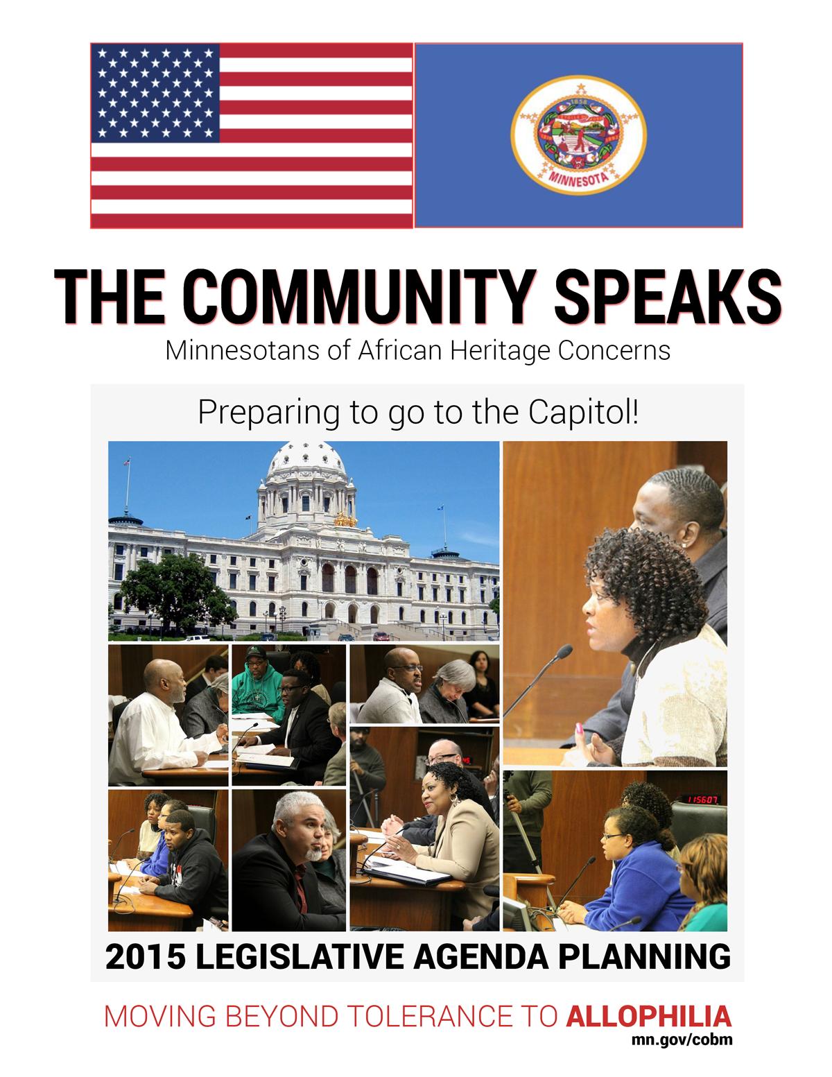The Community Speaks! Report