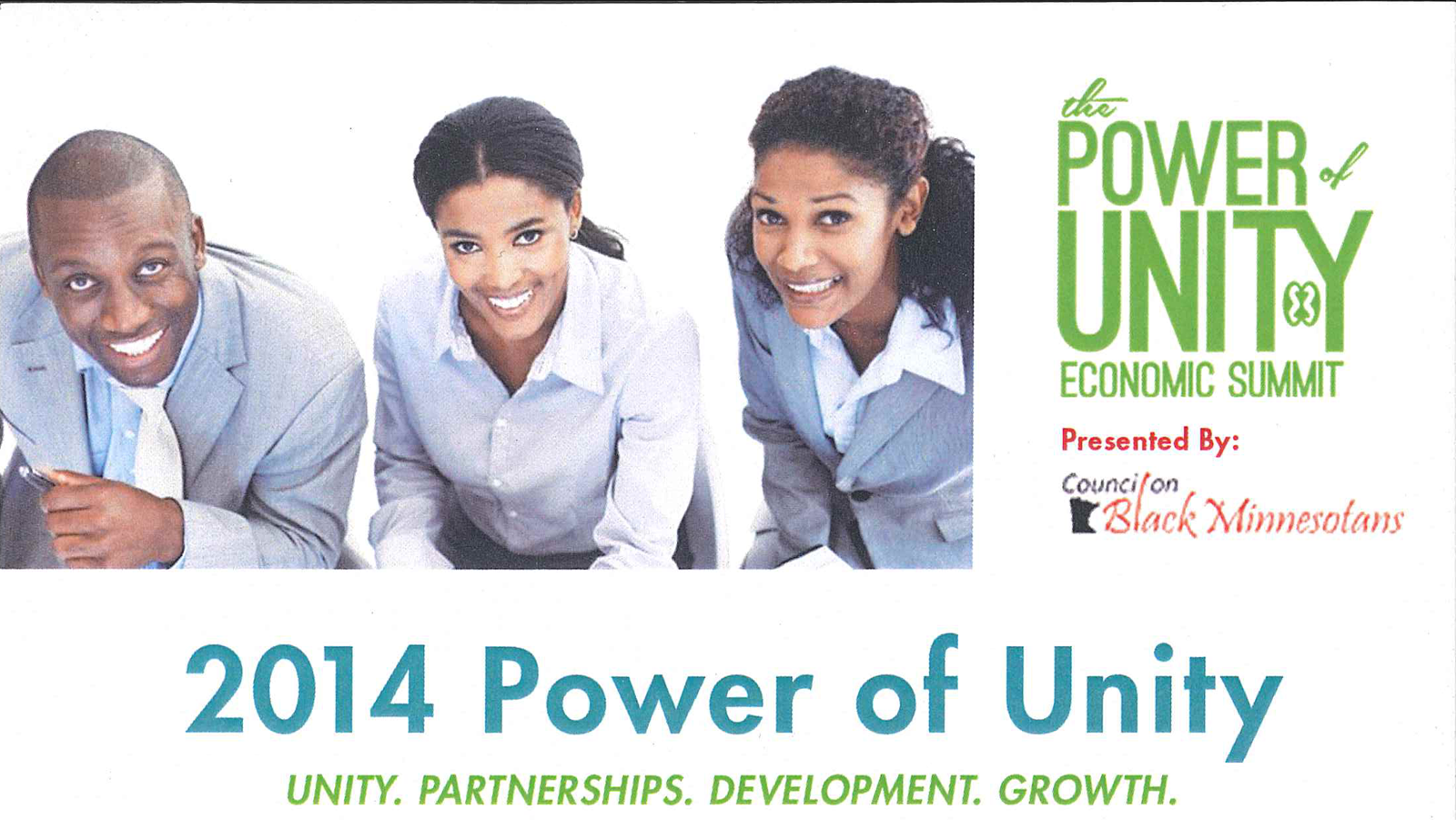 2014 Power of Unity: African Heritage Economic Development Summit
