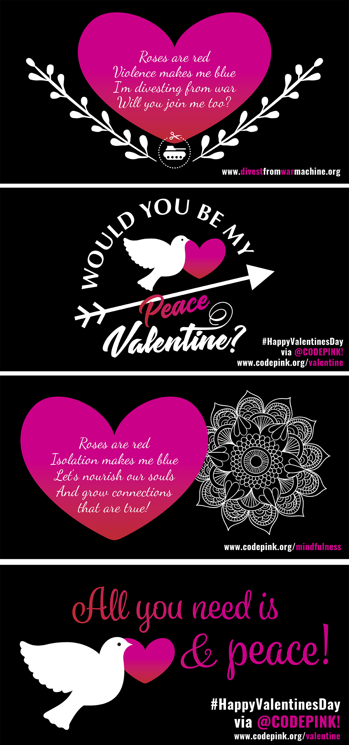 Be My Peace Valentine!