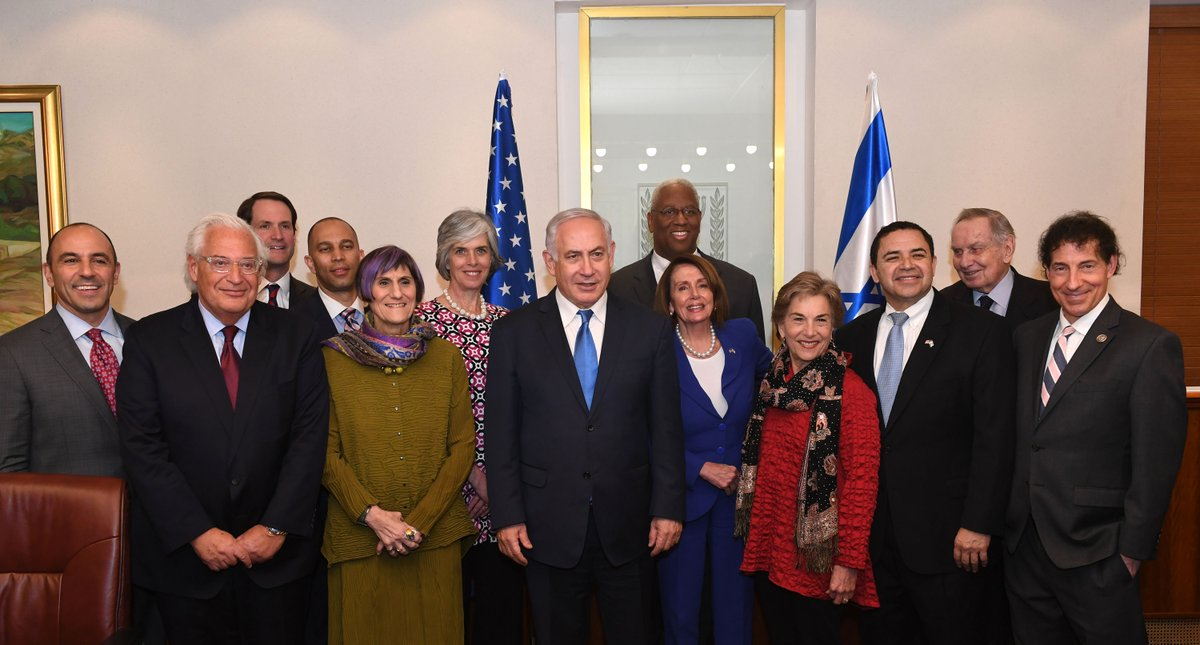 Democrats meet with Netanyahu