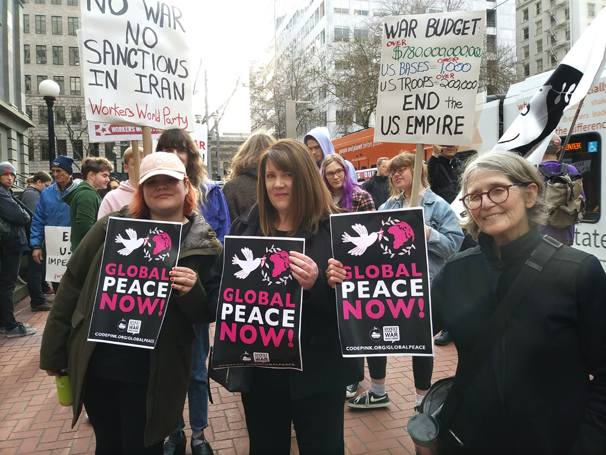 Global peace now!