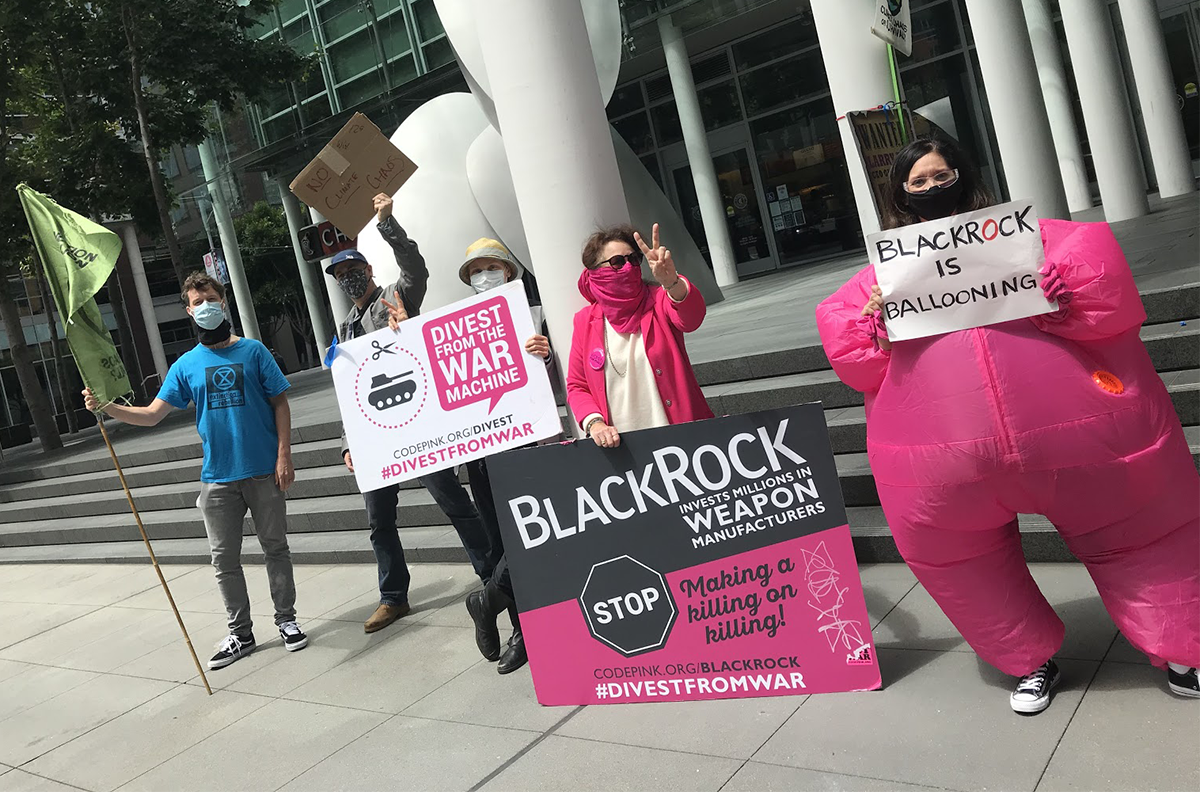 BlackRock Protest