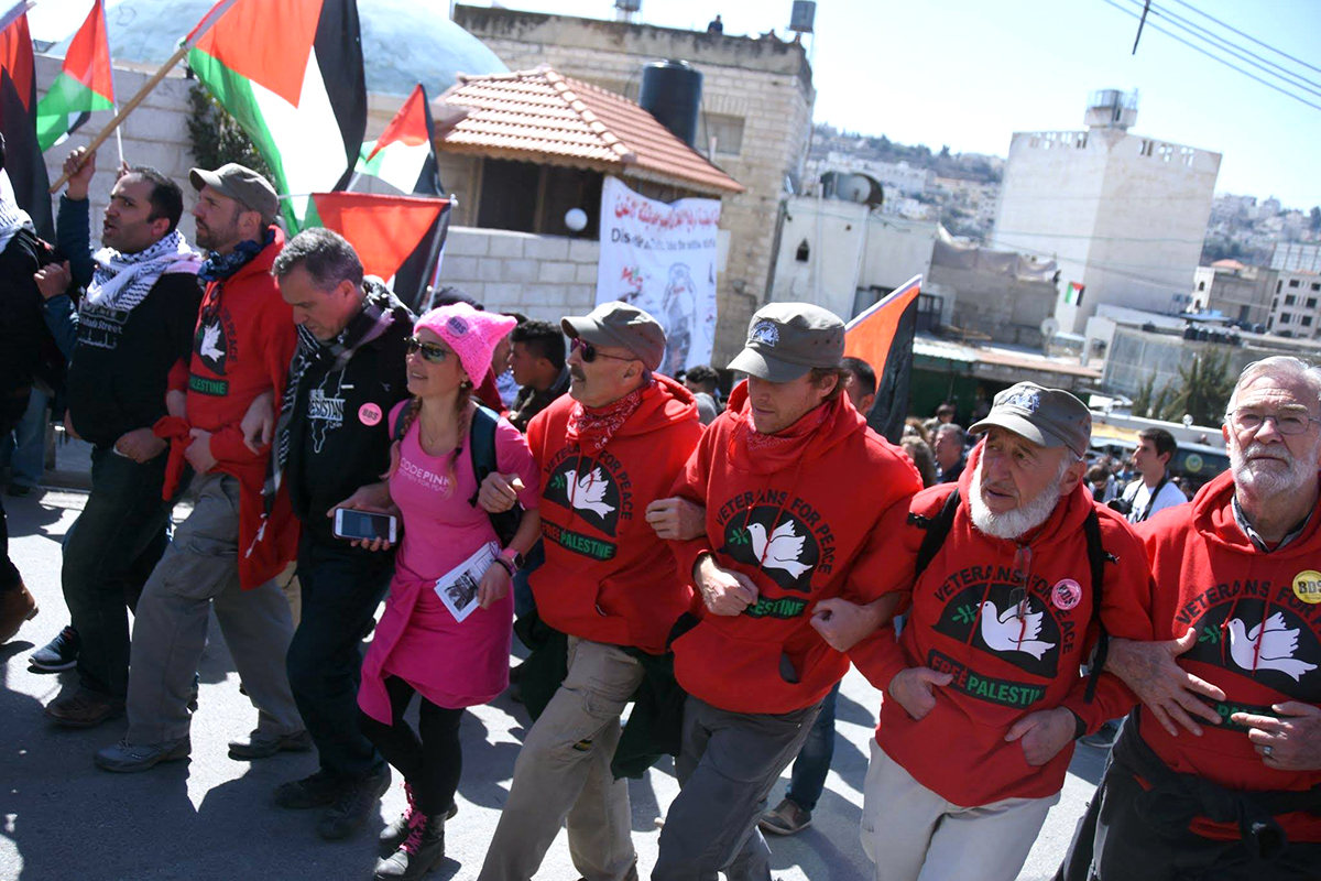 Protest in Hebron