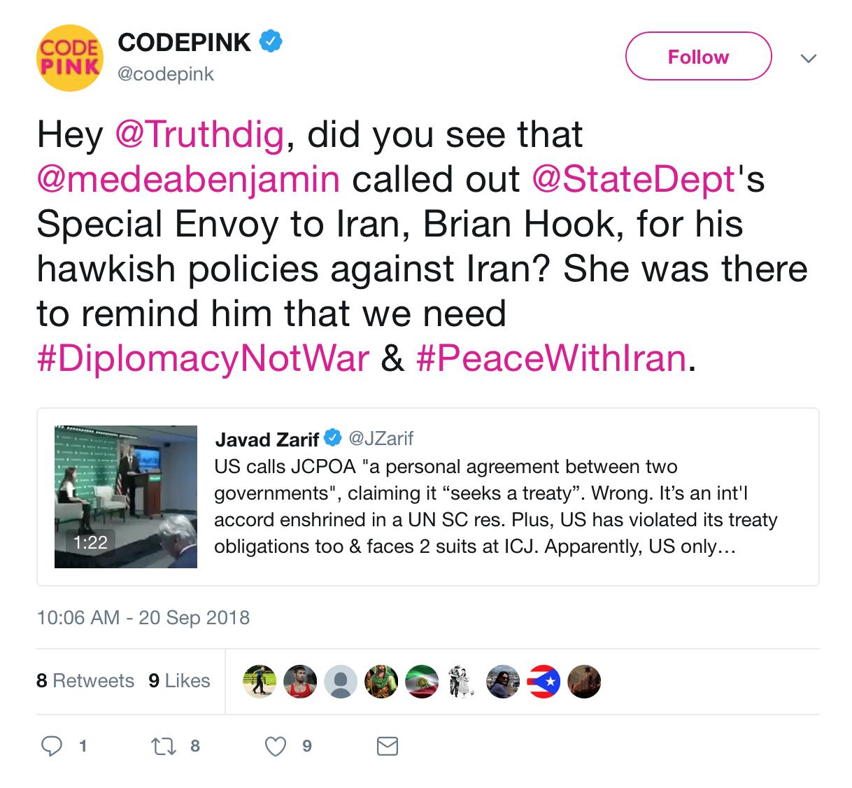 We Love Iranians | CODEPINK