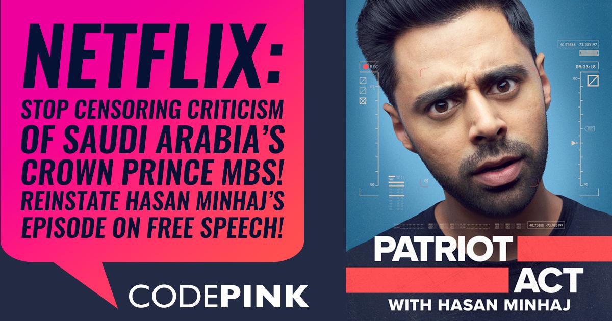 Tell Netflix: Don't accept censorship from Saudi Arabia