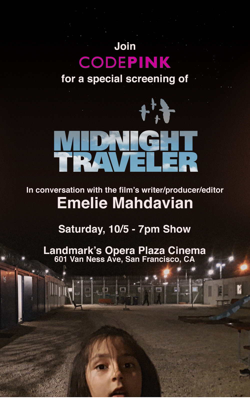 SF October 5: CODEPINK Screening of Midnight Traveler with Q&A ...