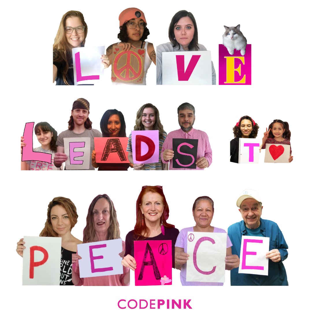 CODEPINK Covid-19 Resources - CODEPINK - Women for Peace