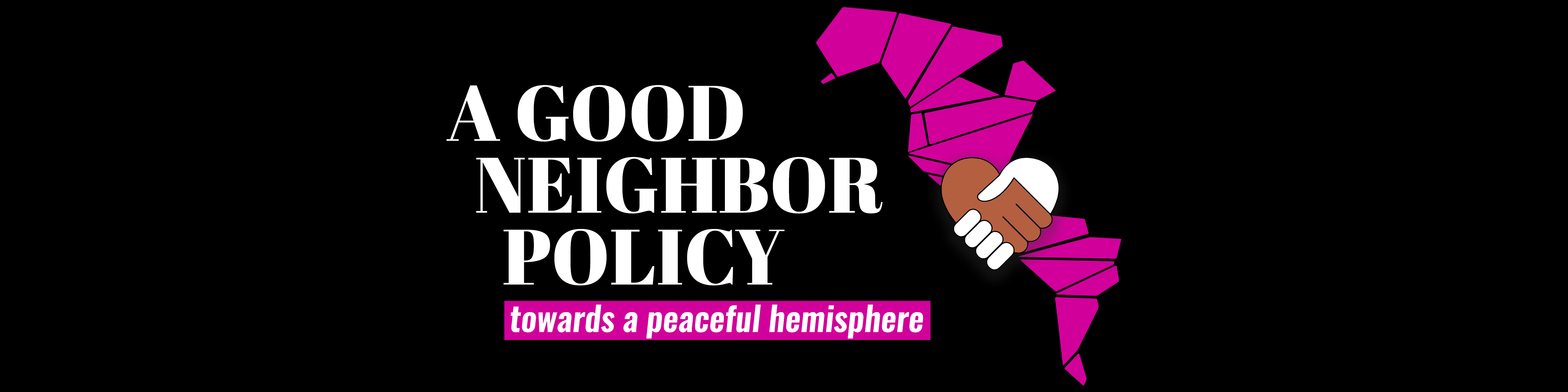 Let's revive the Good Neighbor policy!