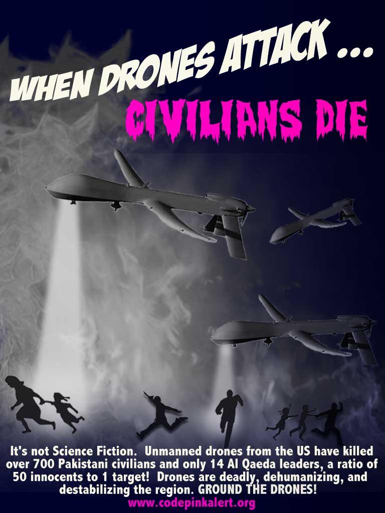 When Drones Attack ...