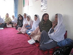 Women Learning about Voting, Afghanistan