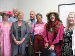 citizens meet with Maine Rep Pingree