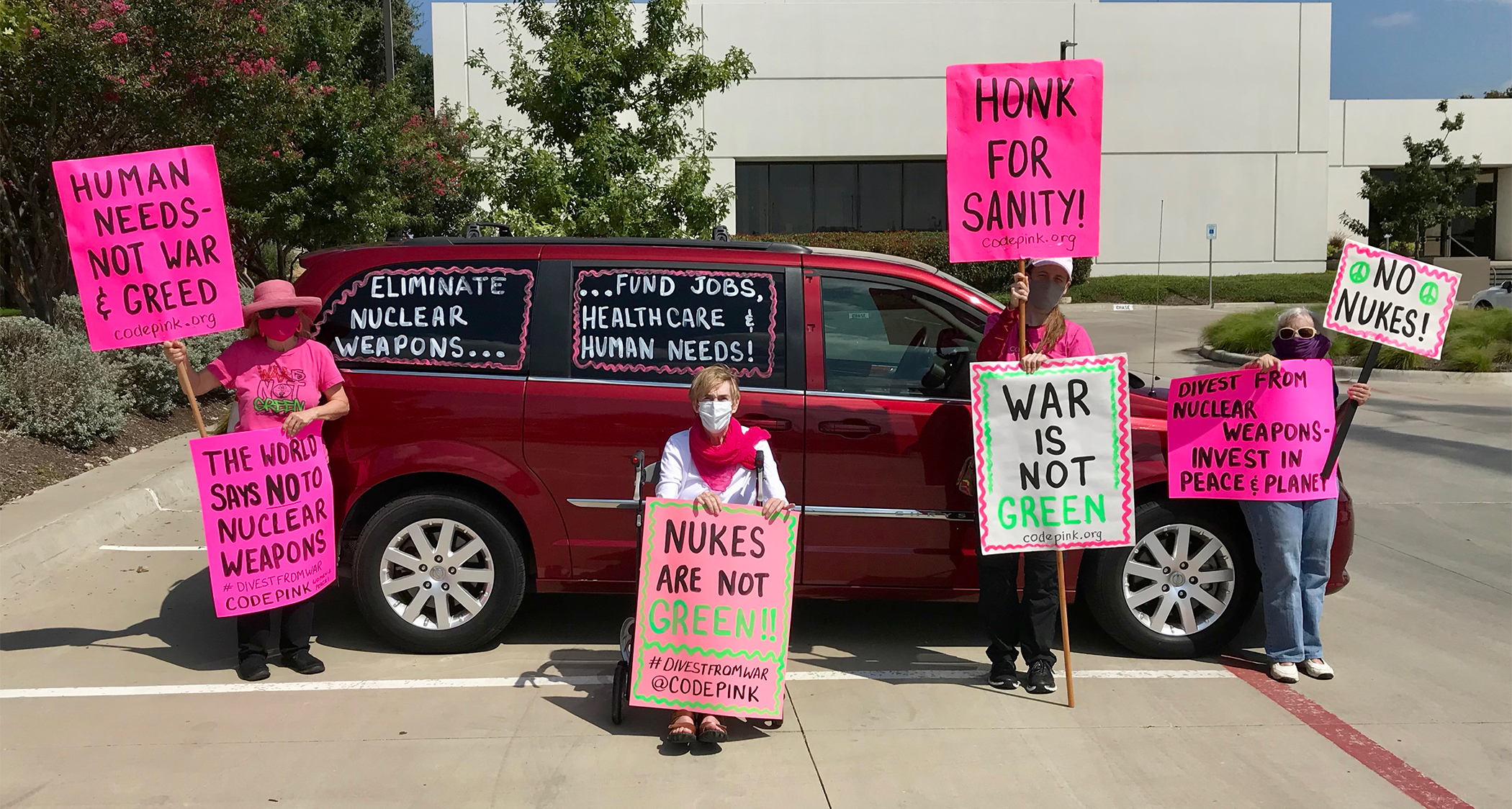 Mother's Day Stop New Nukes Rally!