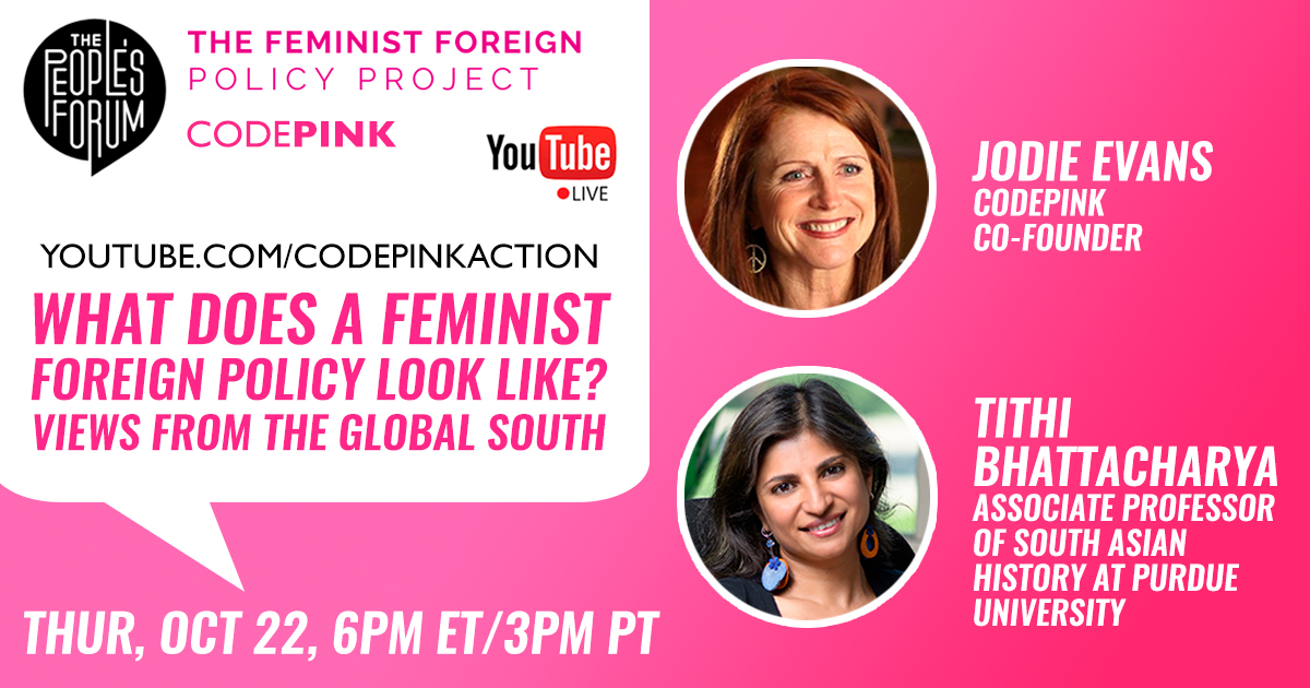 Online Forum: A Feminist Foreign Policy