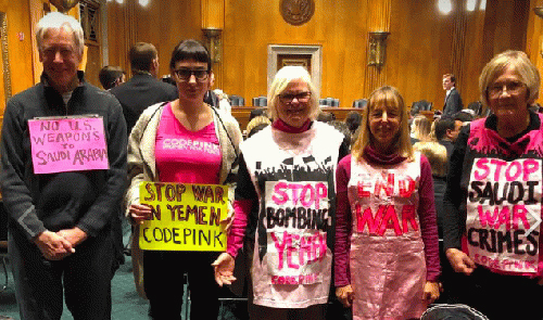 DC says no to war on Yemen!