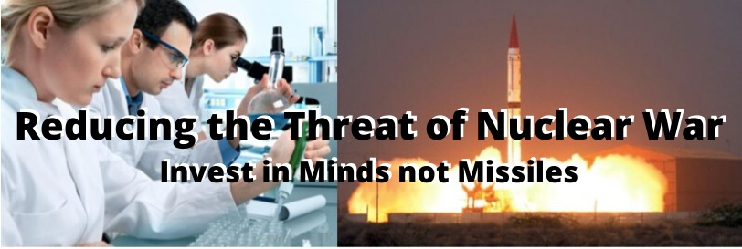 Join Medea Benjamin, Jodie Evans, and Carley Towne at this upcoming event: Reducing the Threat of Nuclear War: Invest in Minds not Missiles!