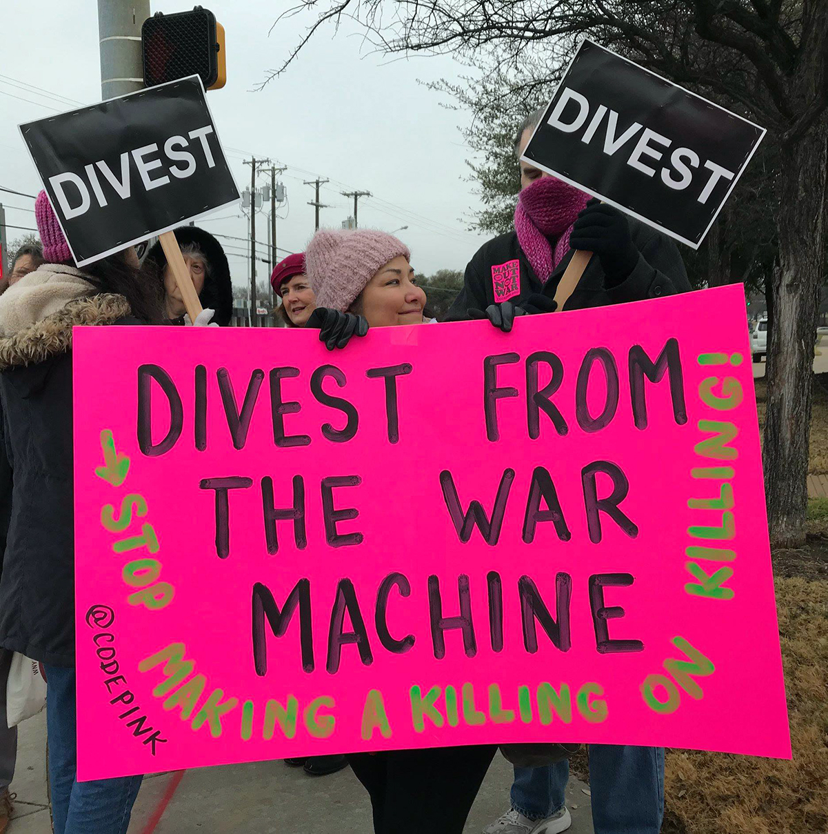 Divest From the War Machine Campaign Zoom Meeting