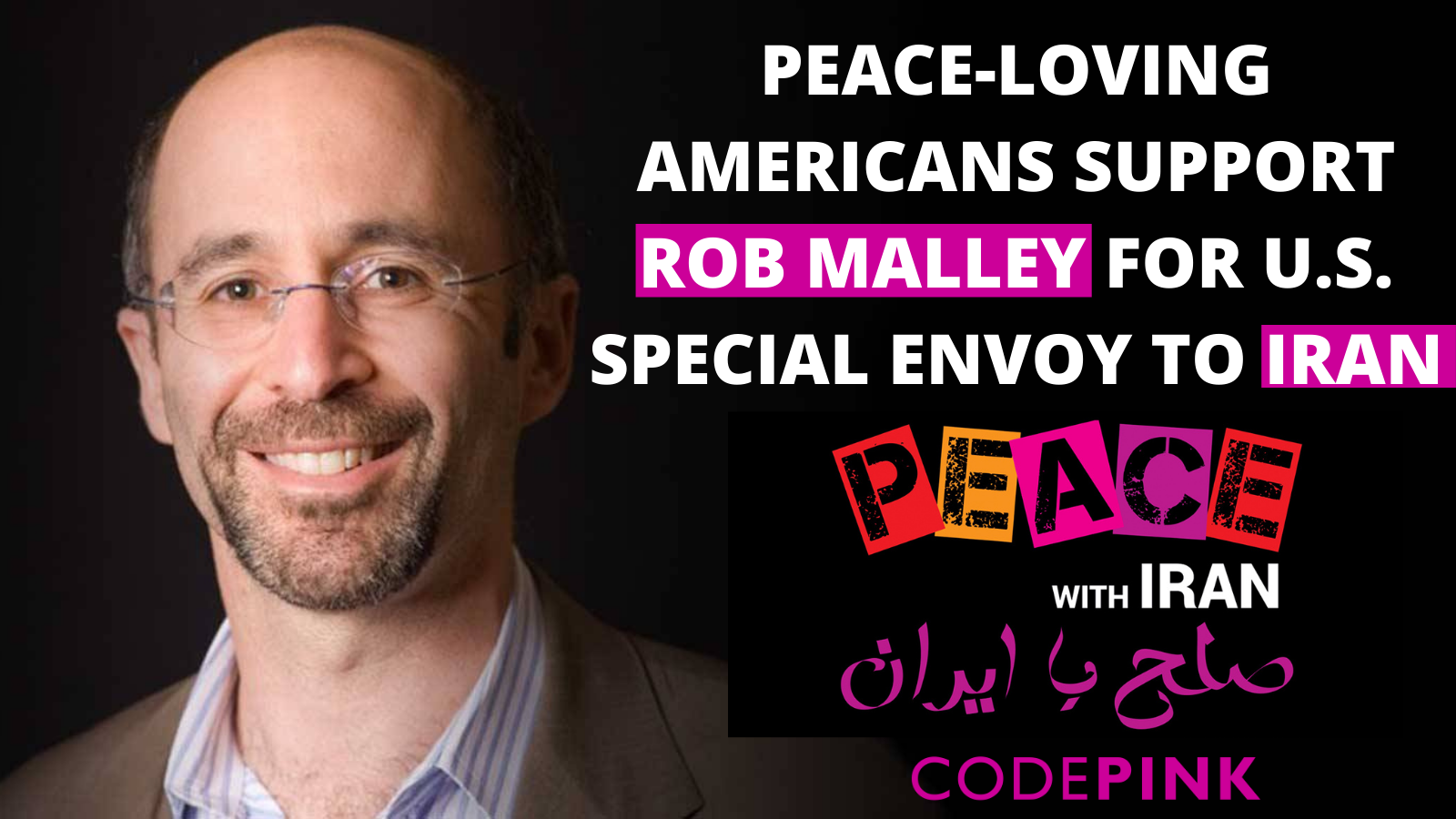 Rob Malley for Special Envoy to Iran