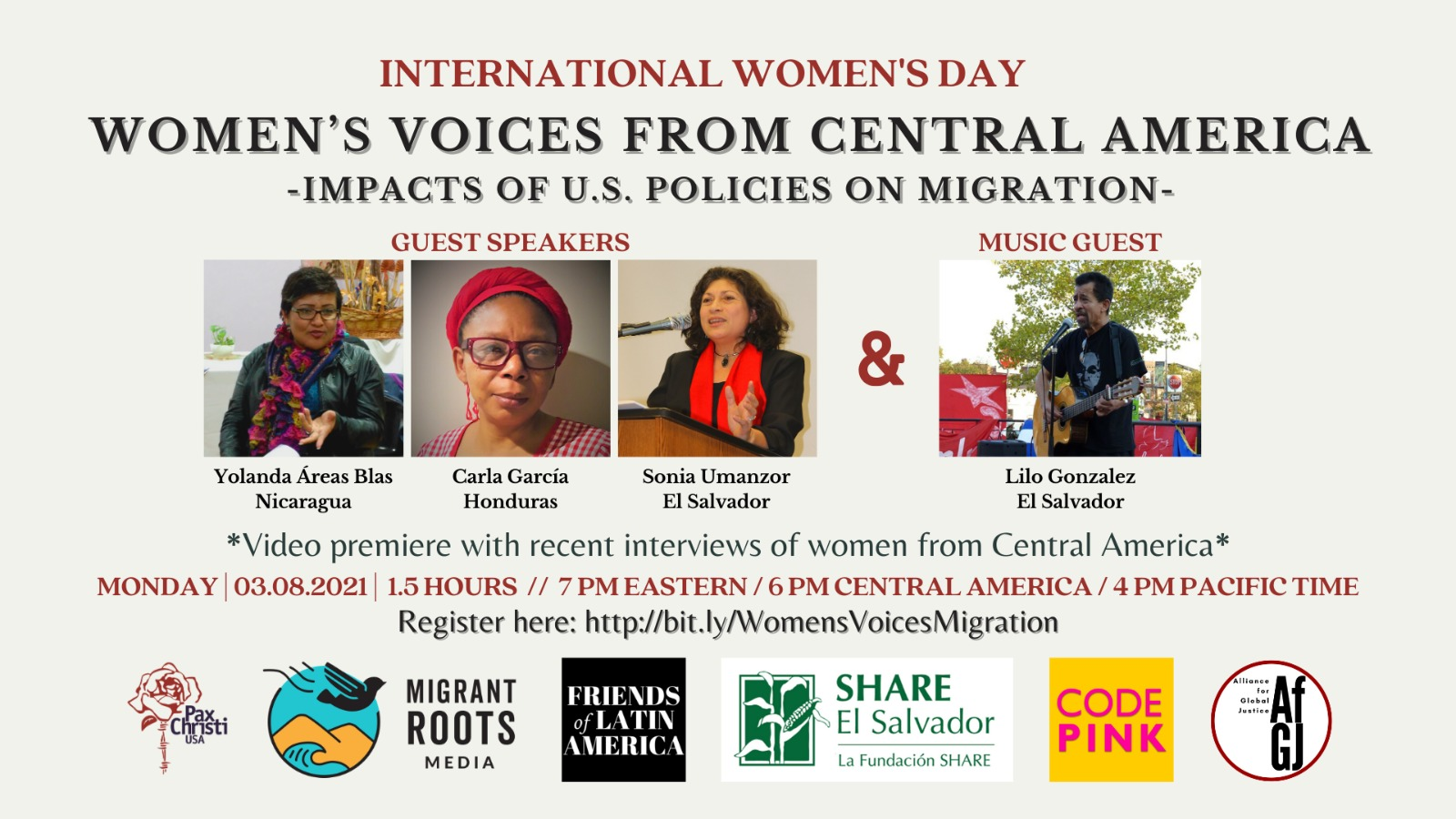Women's Voices from Central America: Impacts of US Policies on Migration